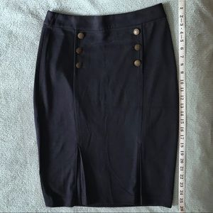 💵 The Limited Navy Sailor Skirt